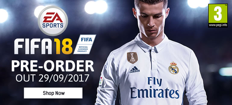 View Full FIFA 18 Range