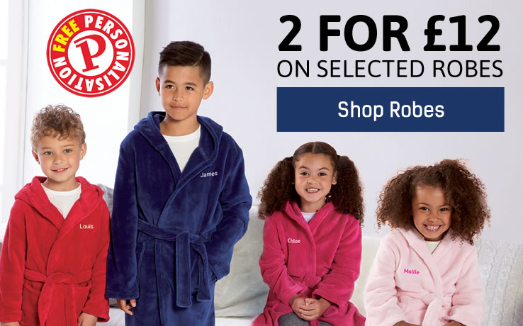 View Full Kids Robes Range