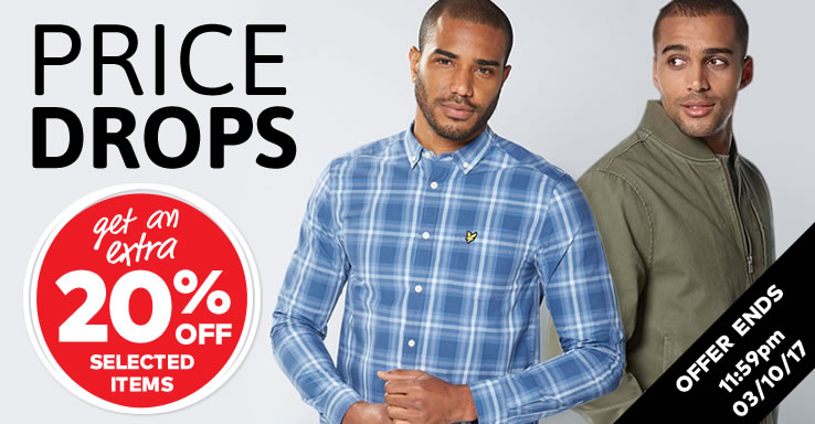 Shop Mens Price Drops