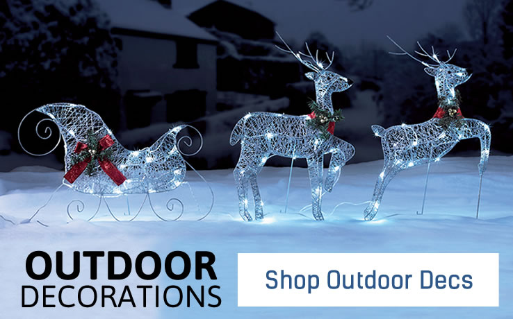 Shop Outdoor Decorations