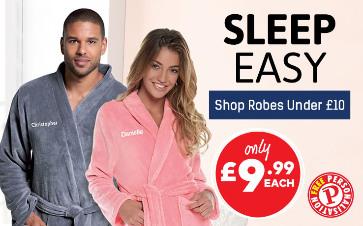 View Full Robes Under £10 Range